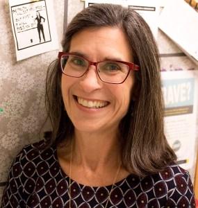 April Lidinsky, Associate Professor of Women's Gender Studies PHOTO/ Kendall Asbell