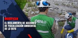 Reglamento de Acciones de Fiscalización Ambiental de la OEFA
