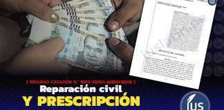 Reparación civil y prescripción