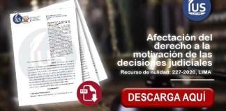 Afectación del derecho a la motivación de las decisiones judiciales