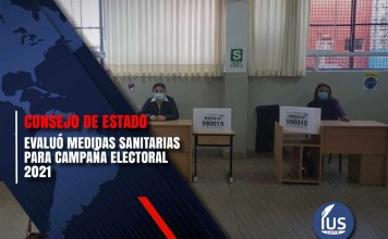 Consejo de Estado evaluó medidas sanitarias para campaña electoral 2021