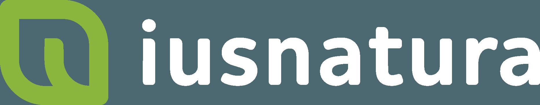 Logo Ius Natura Logo horizontal logo marca branca