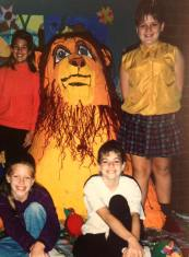 """Nicky Lewis: """"I was involved in the creation of a life size replica of Simba from The Lion King in 5th grade. Not my best work."""""""