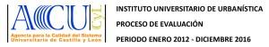 El IUU, en proceso de evaluación por la ACSUCyL