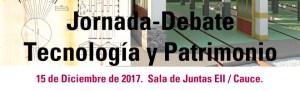 Jornada-Debate Tecnología y Patrimonio