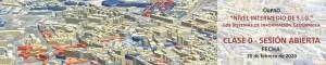 Clase abierta sobre Sistemas de Información Geográfica el 20 de febrero