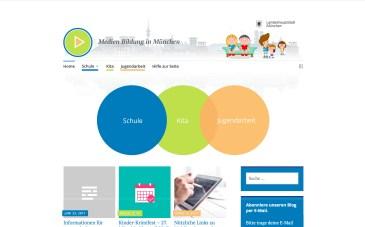 v2 _ Navigation mit Farbfeldern unterstrichen, die sich in den Beiträgen wiederfinden; Kreise sind in Desktop-Version sichtbar (auf Handy und Tablet nicht); Header überarbeitet mit neuen interargierenden Jugendlichen; Logo nur als Anregung (eigenständige Abstimmung)