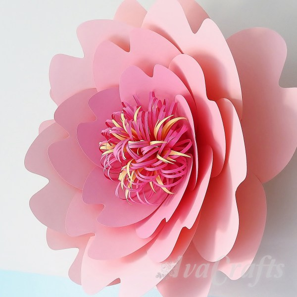 cherry blossom paper flower