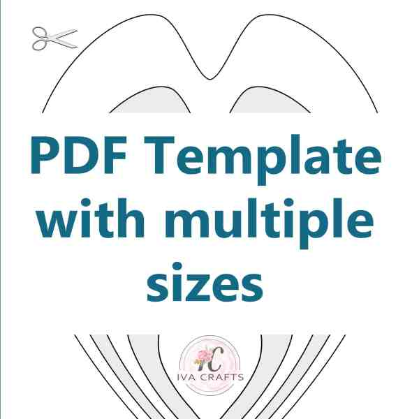 pdf petal template sample