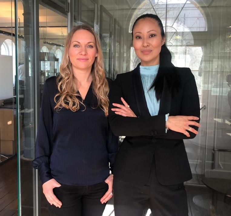 Joo og Ann-Christine - InTech Founders