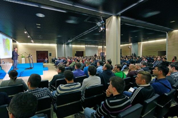 Over 300 developer visited the Change conference!