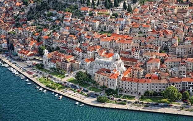 The beautiful Croatian city of Šibenik