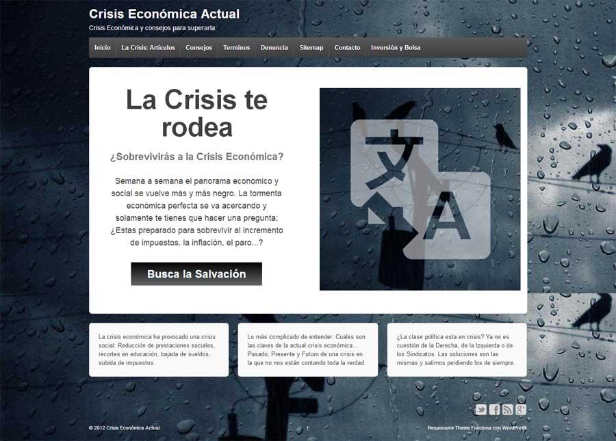 Crisis Economica Actual