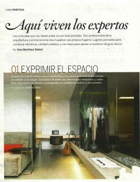 Aquí viven los expertos. La vivienda de Iván Cotado en El País Semanal