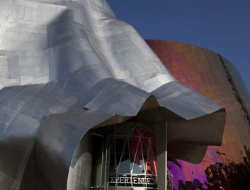 Experience Music Project en Seattle. Frank Gehry