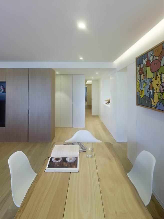 Interiorismo vivienda Galicia Iván Cotado