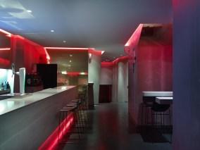 Barra en Diseño de La Fragua de Vulcano Lounge & Bar