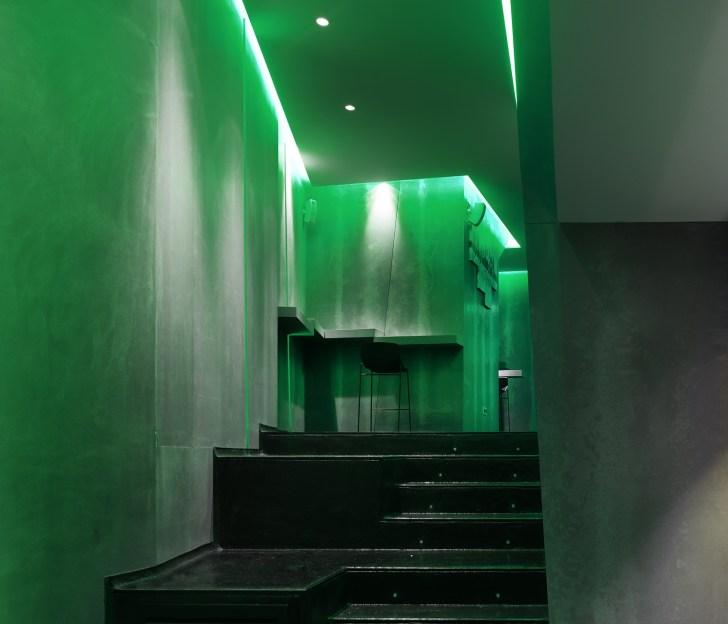 Plataforma anfiteatro en La Fragua de Vulcano Lounge & Bar