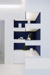 Diseño de óptica en Ponferrada. Mueble expositor de producto