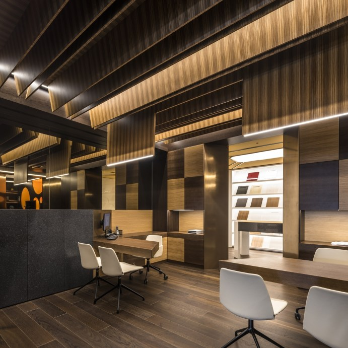 Atención personalizada en Diseño de showroom de cocinas para Grupo Ramón García