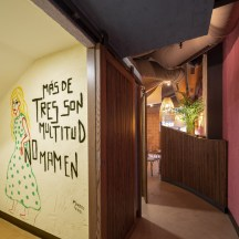 Baños en Nana Pancha, restaurante mexicano en A Coruña-Galicia