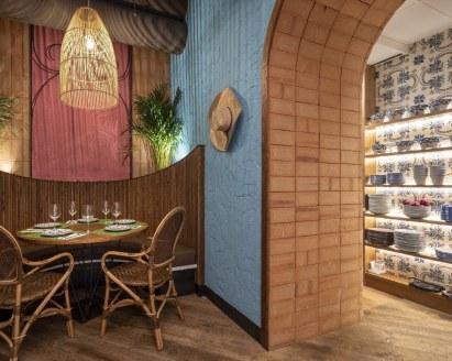 Rincón de la alacena en Nana Pancha, restaurante mexicano en A Coruña-Galicia