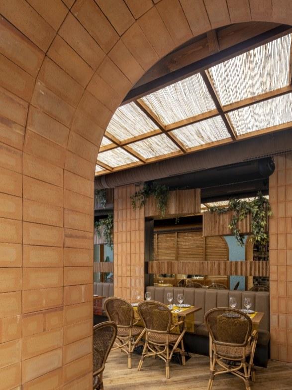 Vistas interiores de Nana Pancha, restaurante mexicano en A Coruña-Galicia