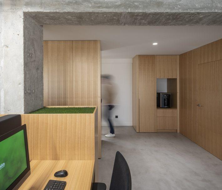 Oficinas Greenalia, The Green Company