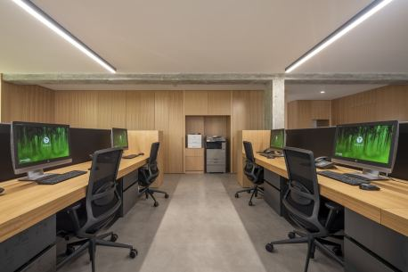 Puestos de trabajo en diseño de oficinas Greenalia, The Green Company