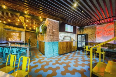 Vista general en Diseño restaurante mexicano Tabaxco en Madrid