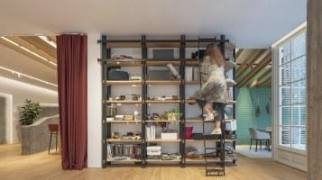 Estantería Suyma - INteriorismo EStratégico en Galicia - Showroom mobiliario Sutega