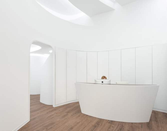 Recepción en Diseño Clínica Ginecología y Obstetricia en la Comunidad Valenciana