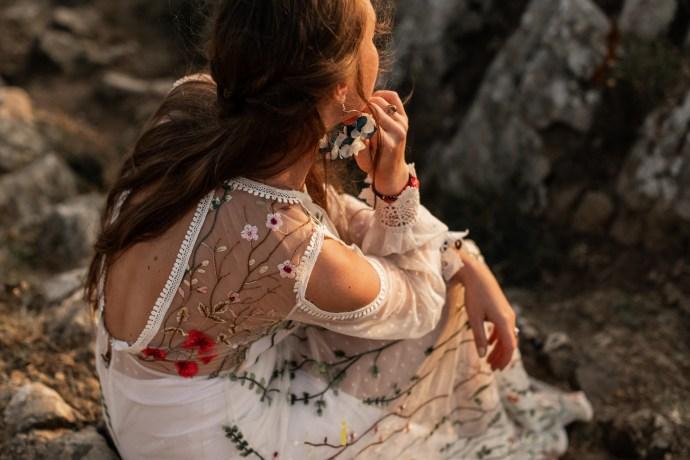 La finesse d'une robe Elodie Courtat