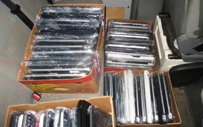 Гражданин Израиля пытался вывезти из Эстонии в Россию 113 кг бывших в употреблении ноутбуков