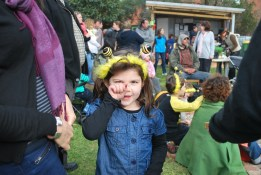 Kids transform into busy bees