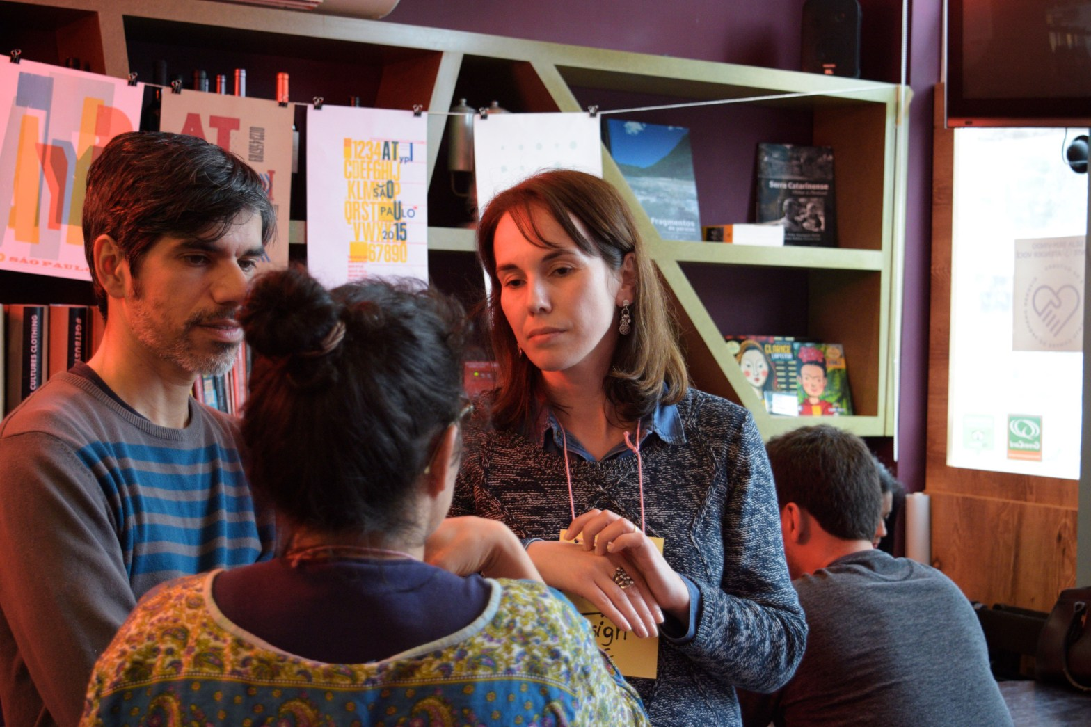 Público em edição anterior do Café com Serifa