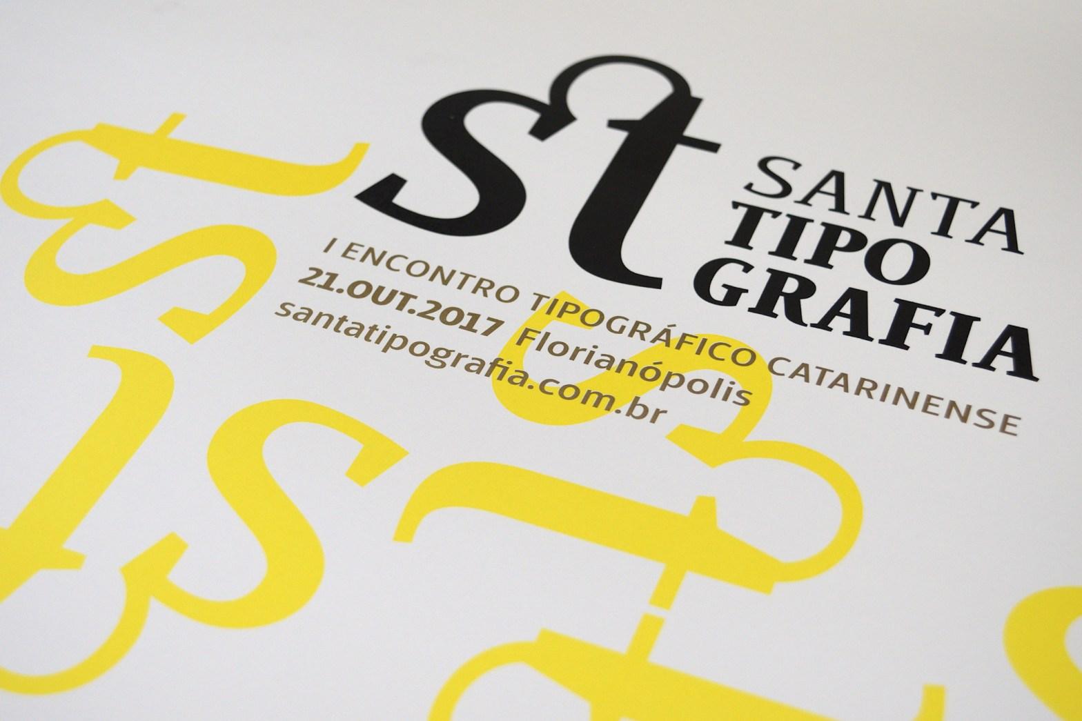 Logotipo do Santa Tipografia