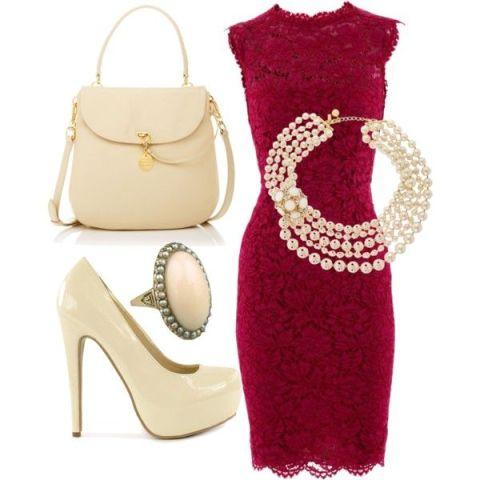 accesorii-nude-rochie-rosie