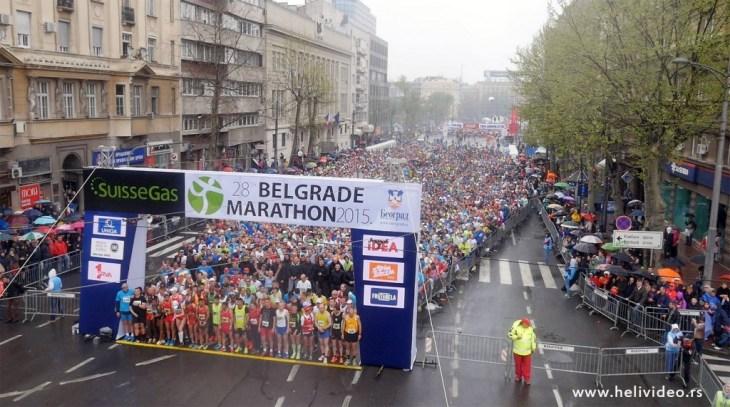 28. Beogradski maraton, trka polumaraton