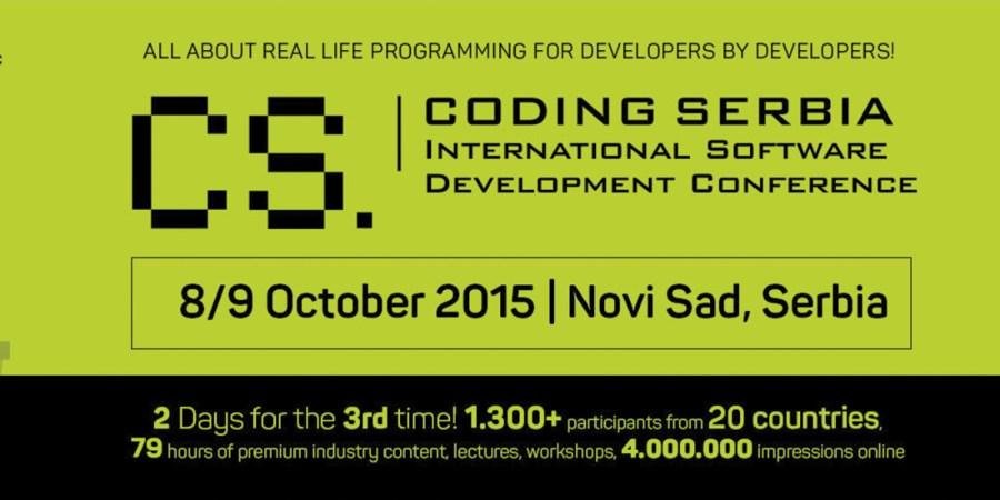 Coding Serbia konferencija Novi Sad