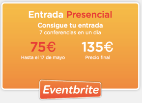 "Entrada presencial Inbound Marketing Descuento con ""ivanruiz"""