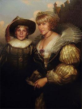 Образец портрета, выполненного на заказ