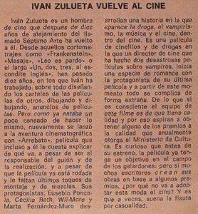 Noticia en ABC por Pilar Trenas