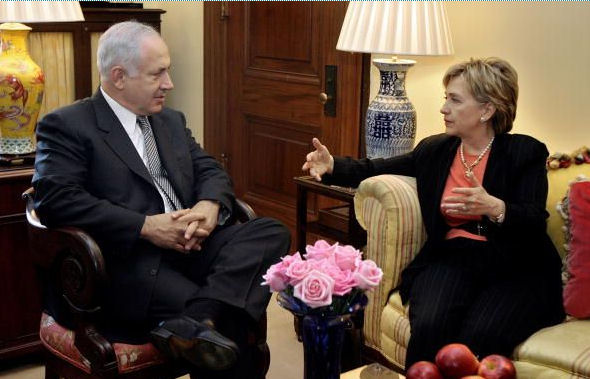 Benjamin Netanyahu can not trust the US and Hillary Clinton in the issues of a nuclear Iran