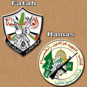 There is only minor differences between Fatah and Hamas, both in their ideology and coast of arms.