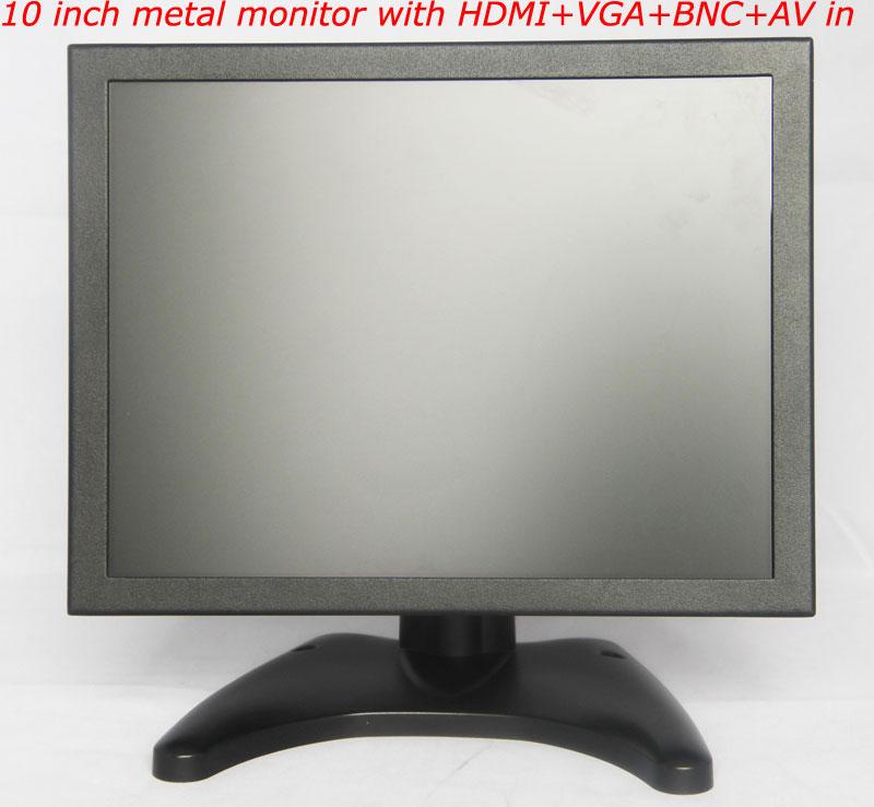 10-inch-metal-housing-monitor-with-HDMI+VGA+BNC+AV-input