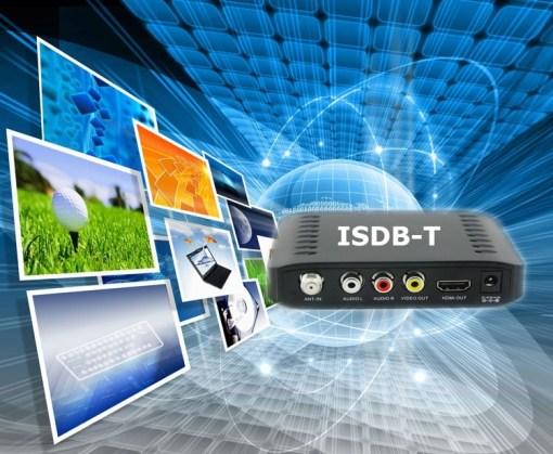 VCAN1092 Car ISDB-T Philippines Digital TV Receiver black box MPEG4 HDMI USB PVR Remote 5
