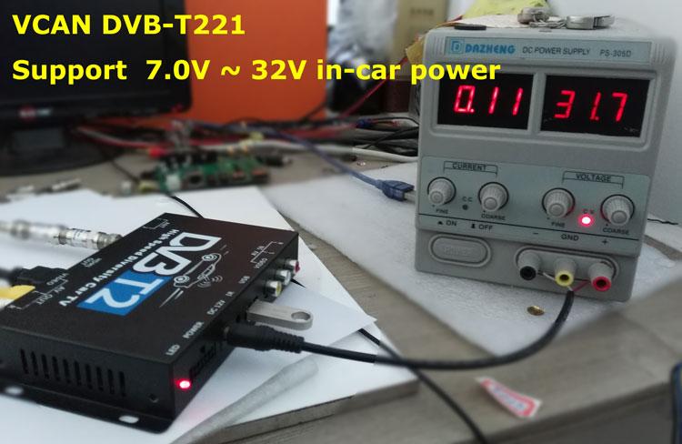 Car DVB-T2 DVB-T High Speed Digital TV Receiver automobile DTV box DVB-T221 1
