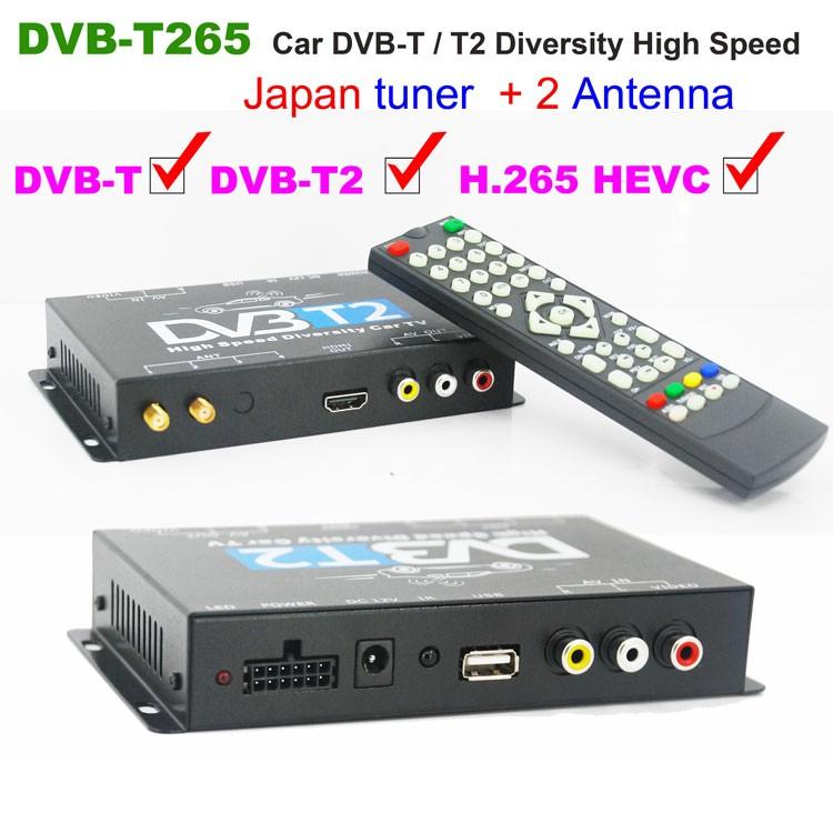 Poland car dvb-t2 MPEG2 dvb-t digital tv receiver 1