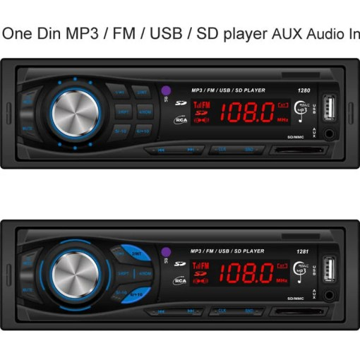 cheapest one din usb mp3 player